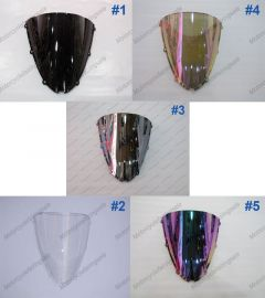 5 x Farbe Kawasaki NINJA ZX6R 2005-2008 Windschutzscheibe / windschild
