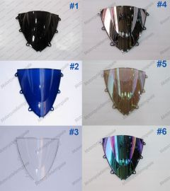 6 x Farbe Honda CBR1000RR 2008-2011 Windschutzscheibe / windschild
