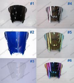 6 x Farbe Yamaha YZF R6 1998-2002 Windschutzscheibe / windschild