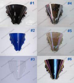 6 x Farbe Yamaha YZF R6 2003-2005 Windschutzscheibe / windschild