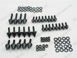 Verkleidung Schraubenbolzen Für Suzuki GSX-R 750 - 2000-2003 - schwarz