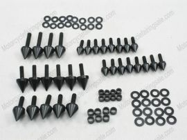 Verkleidung Schraubenbolzen Für Suzuki GSX-R 1000 - 2001-2002 - schwarz