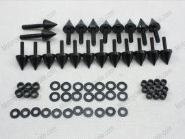 Verkleidung Schraubenbolzen Für Kawasaki Ninja ZX6R 636 ZX6RR - 2003-2006 - Schwarz