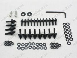 Verkleidung Schraubenbolzen Für Suzuki GSX-R 1000 - 2003-2004 - Schwarz