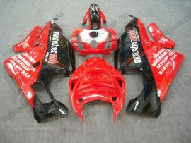Ducati 749 / 999 2005-2006 Injection ABS verkleidung - Monstermob - Rot/Weiß