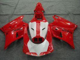Ducati 748 / 998 / 996 Injection ABS verkleidung - INFOSTRADA - Rot/Weiß