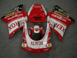 Ducati 748 / 998 / 996 1996-2002 Injection ABS verkleidung - Xerox - Rot/Weiß