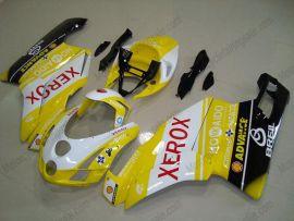 Ducati 749 / 999 2003-2004 Injection ABS verkleidung - Xerox - Gelb/Schwarz/Weiß
