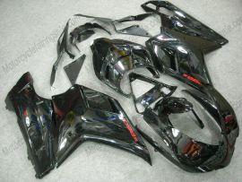 Ducati 848 / 1098 / 1198 2007-2009 Injection ABS verkleidung - Factory Style - alle Schwarz