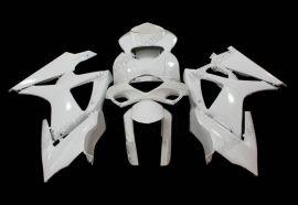 Suzuki GSX-R 1000 2007-2008 K7 Injection ABS Unlackiert verkleidung - Weiß