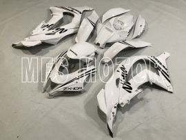 Kawasaki NINJA ZX10R 2016-2019 Injection ABS Fairing - Factory Style - All White