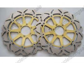 Ducati 748 916 996 998 BIPOSTO Vorne Bremsscheibe - Golden