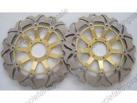 Honda VFR800 CBR900RR 1992 1993 CBR600F 1999 2000 vor Bremsscheibe - Golden