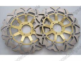 Honda RS250 CB400N CBR600F/400/900RR VFR750 VTR1000 vor Bremsscheibe - Golden