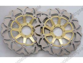 Honda CBR1100XX CBR1300 CBR1100 1999-2007 vor Bremsscheibe - Golden