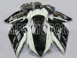 Kawasaki NINJA ZX14R 2012-2019 Einspritz-ABS-Verkleidung - Andere - Schwarz / Weiß