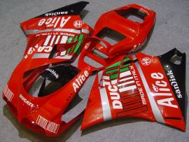 Ducati 748 / 998 / 996 Injection ABS verkleidung - Alice - Rot