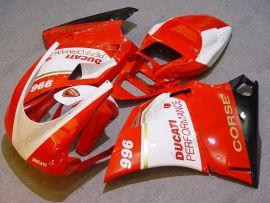 Ducati 748 / 998 / 996 Injection ABS verkleidung - Performance - Rot/Weiß