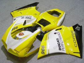 Ducati 748 / 998 / 996 Injection ABS verkleidung - Performance - Gelb/Weiß