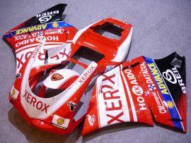 Ducati 748 / 998 / 996 Injection ABS verkleidung - Xerox - Rot/Weiß