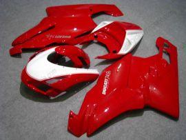 Ducati 749 / 999 2003-2004 Injection ABS verkleidung - anderen - Rot/Weiß