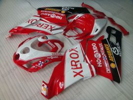 Ducati 749 / 999 2003-2004 Injection ABS verkleidung - Xerox - Rot/Weiß