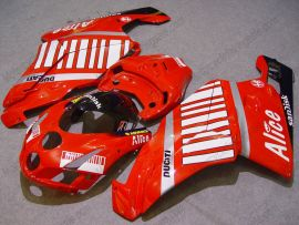 Ducati 749 / 999 2005-2006 Injection ABS verkleidung - Alice - Rot/Weiß