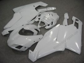 Ducati 749 / 999 2005-2006 Injection ABS Fairing - Factory Style - alle Weiß