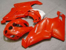 Ducati 749 / 999 2005-2006 Injection ABS verkleidung - Factory Style - Rot/Weiß