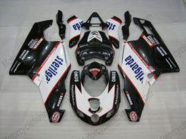 Ducati 749 / 999 2005-2006 Injection ABS verkleidung - Sterilgarda - Schwarz/Weiß