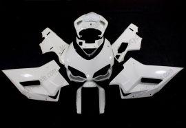 Ducati 848 / 1098 / 1198 2007-2009 Injection ABS Unlackiert verkleidung - Weiß