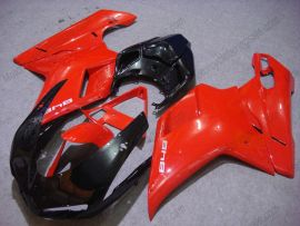 Ducati 848 / 1098 / 1198 2007-2009 Injection ABS verkleidung - anderen - Rot/Schwarz