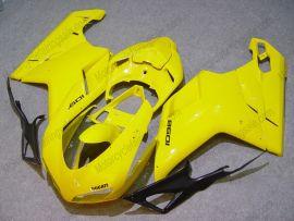 Ducati 848 / 1098 / 1198 2007-2009 Injection ABS verkleidung - anderen - Gelb