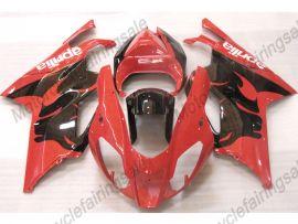 Aprilia RSV1000R 2004-2006 Injection ABS verkleidung - anderen - Schwarz/Rot