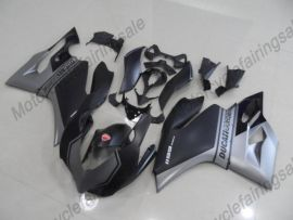 Ducati 1199 2012-2014 Injection ABS verkleidung - andere - Grau/Silber