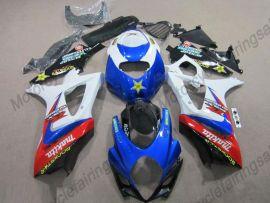 Suzuki GSX-R 1000 2007-2008 K7 Injection ABS verkleidung - Rockstar - Blau/Weiß