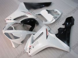 Triumph Daytona 675 2006-2008 Injection ABS verkleidung - anderen - Weiß/Schwarz
