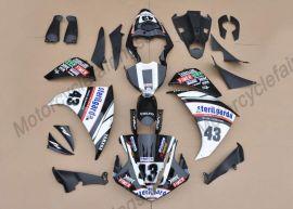 Yamaha YZF-R1 2009-2011 Injection ABS verkleidung - anderen - Weiß/Schwarz