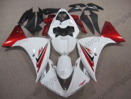 Yamaha YZF-R1 2009-2011 Injection ABS verkleidung - anderen - Weiß/Rot/Schwarz