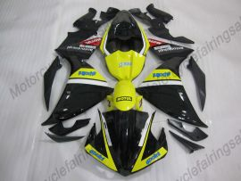 Yamaha YZF-R1 2009-2011 Injection ABS verkleidung - MOTUL - Schwarz/Gelb