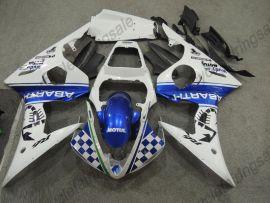 Yamaha YZF-R1 2004-2006 Injection ABS verkleidung - MOUTUL - Blau/Weiß