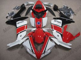 Yamaha YZF-R1 2007-2008 Injection ABS verkleidung - anderen - Weiß/Rot