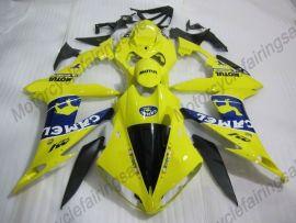 Yamaha YZF-R1 2007-2008 Injection ABS verkleidung - MOTUL - Gelb