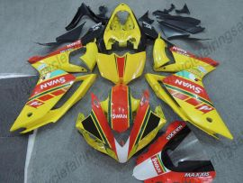 Yamaha YZF-R1 2007-2008 Injection ABS verkleidung - MAXXIS - Gelb/Rot