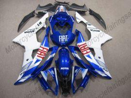 Yamaha YZF-R6 2008-2016 Injection ABS verkleidung - FIAT - Blau/Weiß