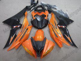 Yamaha YZF-R6 2008-2014 Injection ABS verkleidung - anderen -orange / schwarz