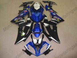 Yamaha YZF-R6 2008-2014 Injection ABS verkleidung - anderen -blau / weiß / schwarz