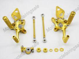 Motorrad DUCATI 1198/1098/848 hinteren Satz Fußstütze Golden