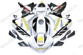 Honda CBR1000RR 2006-2007 Injection ABS verkleidung - HANN Spree - Weiß/Schwarz