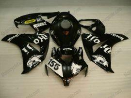 Honda CBR1000RR 2008-2011 Injection ABS verkleidung - PIRELLI - Schwarz/Weiß